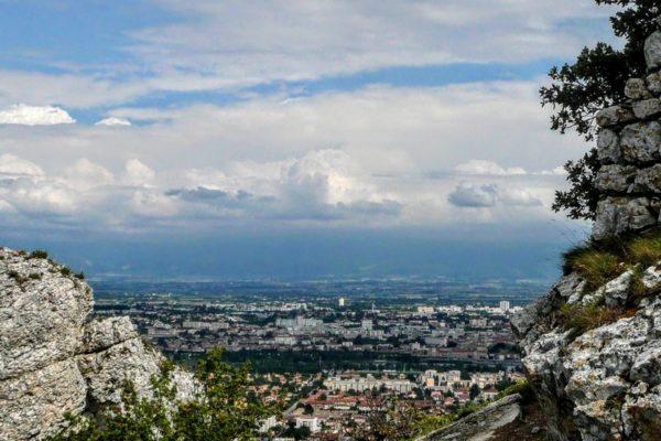 Valence Vue de Crussol